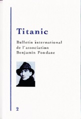 Titanic n°2 - Bulletin International Benjamin Fondane (2014)