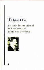 Titanic n°4 - Bulletin International Benjamin Fondane (2016)